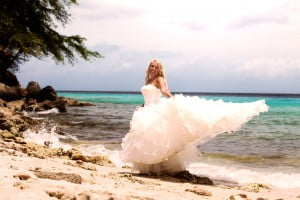 Bruidsreportage op Curacao