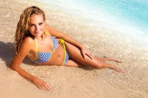fotoshoot op het strand